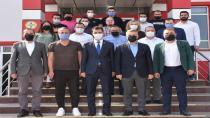 Deva Parti Balıkesir Teşkilatı Bal-Kes'i Ziyaret Etti