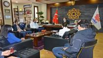 Deva Partisi Karesi İlçe Başkanı Onur Ayan'dan Karesi Belediyesi'ne Ziyaret!...